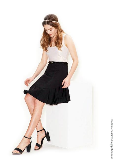 Faldas de moda primavera verano 2017.