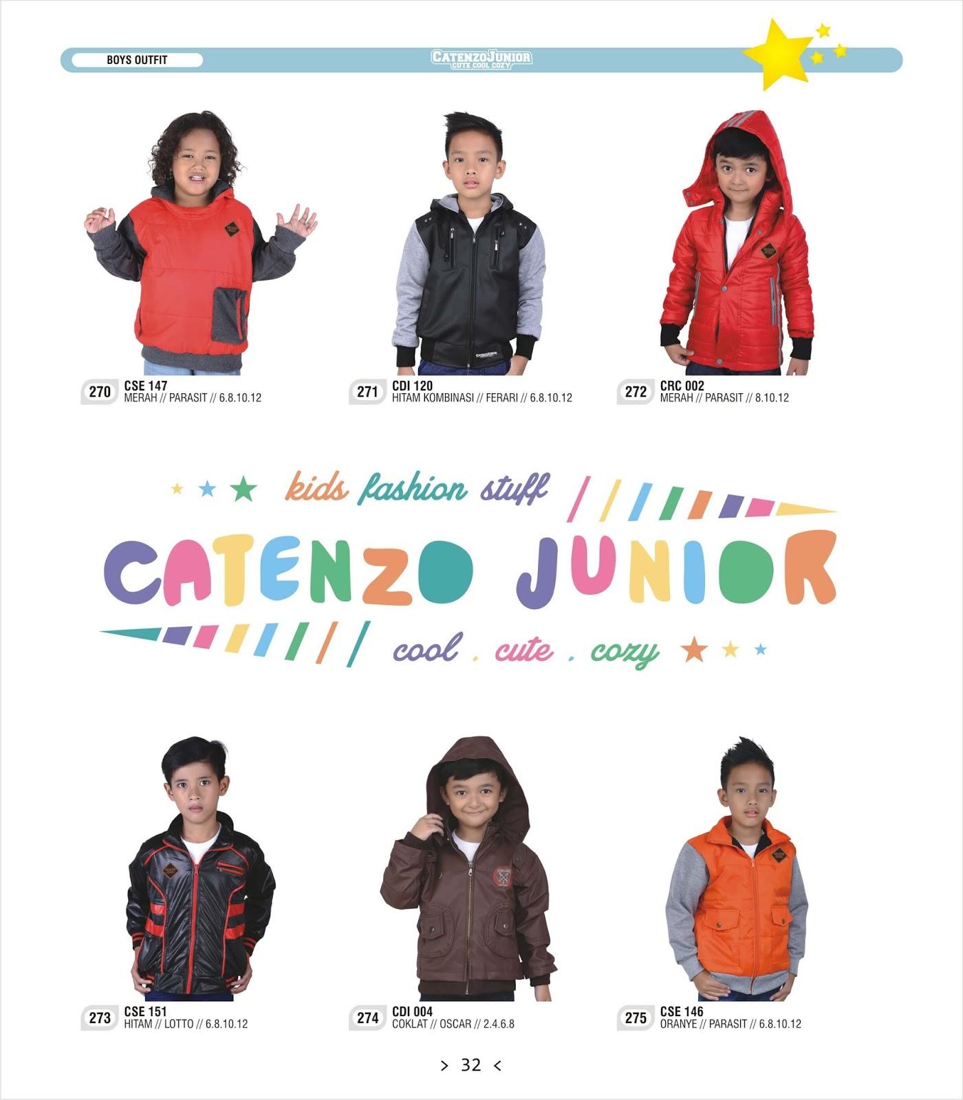 Catenzo Junior Cdi 129 Jaket Casual Anak Laki Tan Kombinasi Distro Cjr Chr 243 Katalog Pakaian