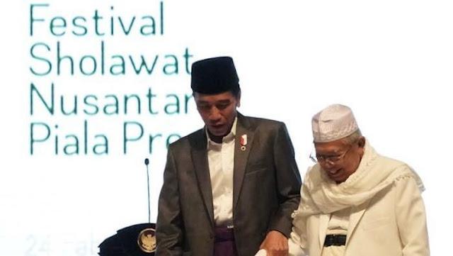 Ma'ruf Amin Ditunjuk Para Kiai Lewat Surat