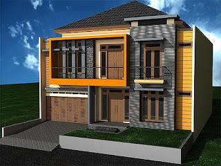 gambar tampak depan rumah minimalis 2