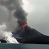 A volcano in Indonesia erupted in a Tsunami hit region