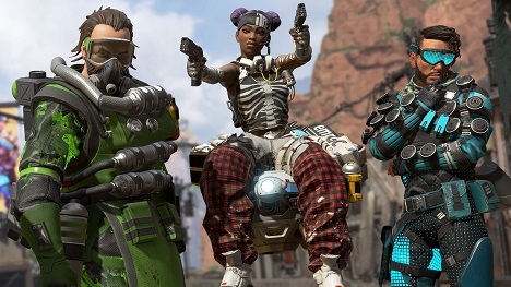 Top Weapons in Apex Legends