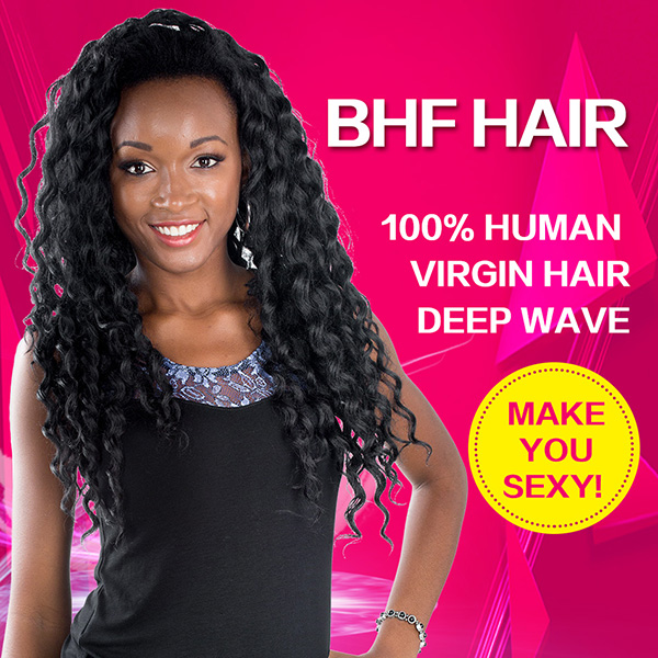 BHF Hair - 100% Human Virgin Hair Deep Wave