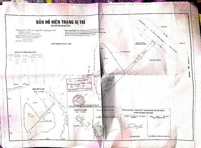 Khu đất 3191A Nam Kỳ Khởi Nghĩa, Phường 8, Quận 3, HCM