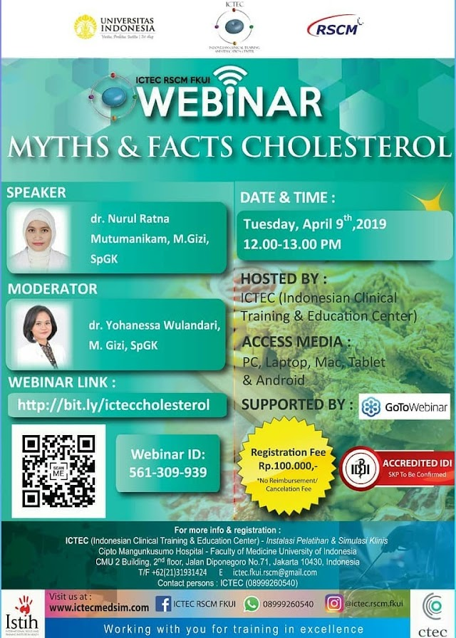 WEBINAR Myths and Facts Cholesterol 9 April (SKP IDI)