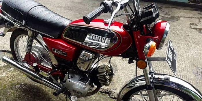 Yamaha L2 Super, Motor Yamaha Pertama di Indonesia