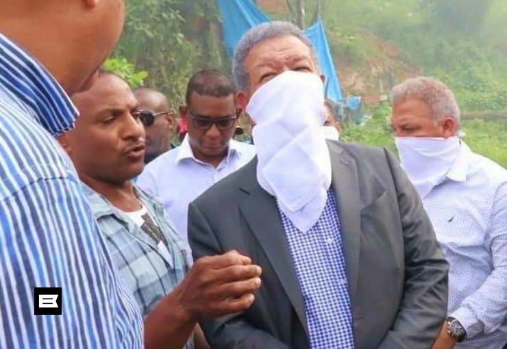 Leonel pide solución a situación de contaminación por vertedero Las Terrenas