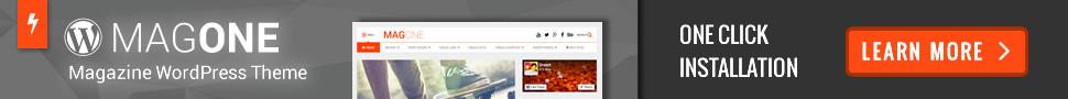 MagOne - Newspaper & Magazine WordPress Theme