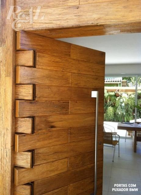 Solid Wooden Main Door Designs