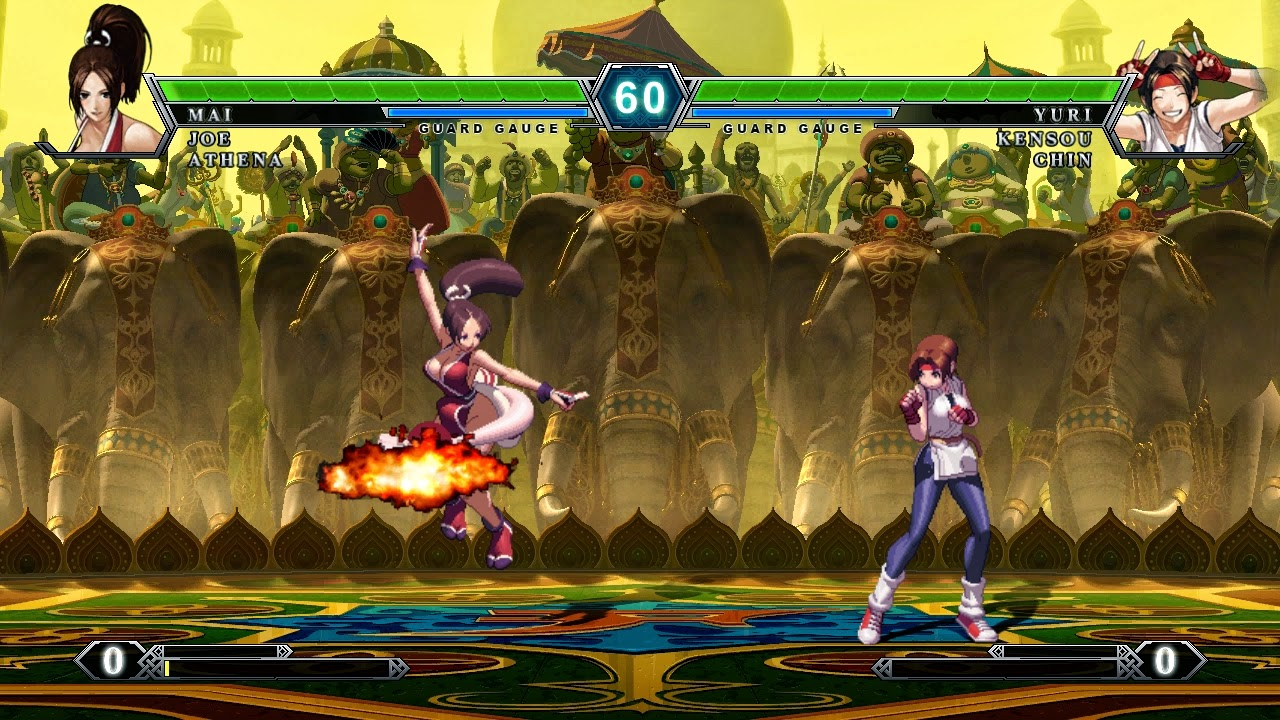 The king of fighters xiii steam