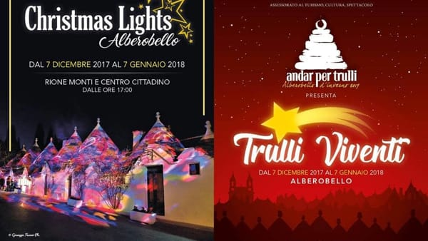 Alberobello a Natale 2017