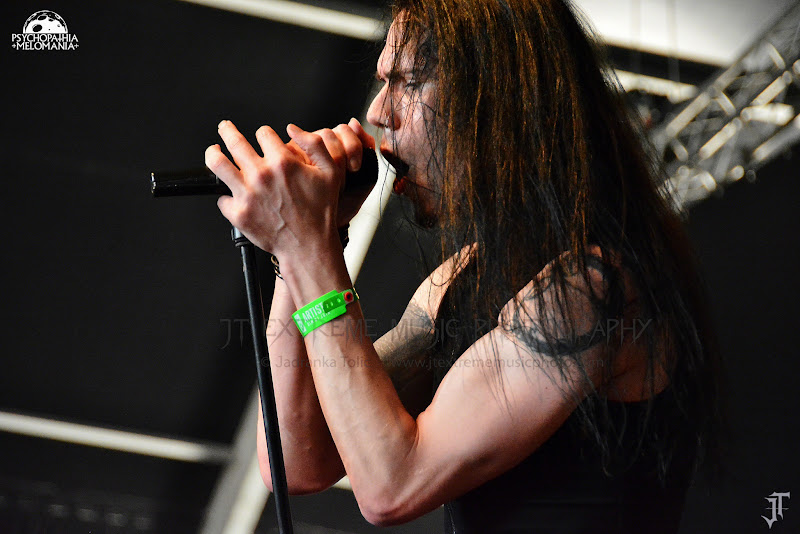 Ne Obliviscaris @Hellfest 2015, Clisson 21/06/2015