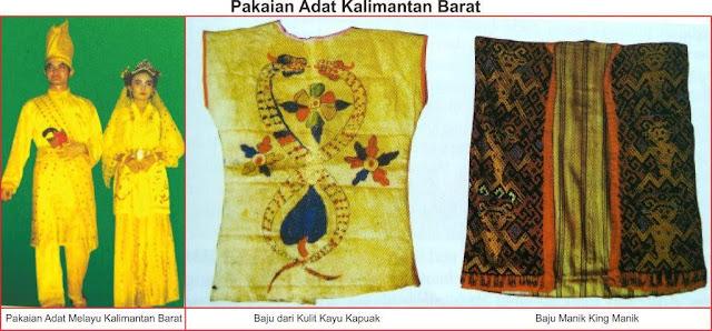 gambar pakaian adat tradisional kalimantan barat