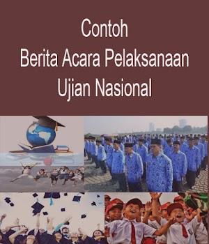 Berita Acara Pelaksanaan Ujian Nasional 2016/2017