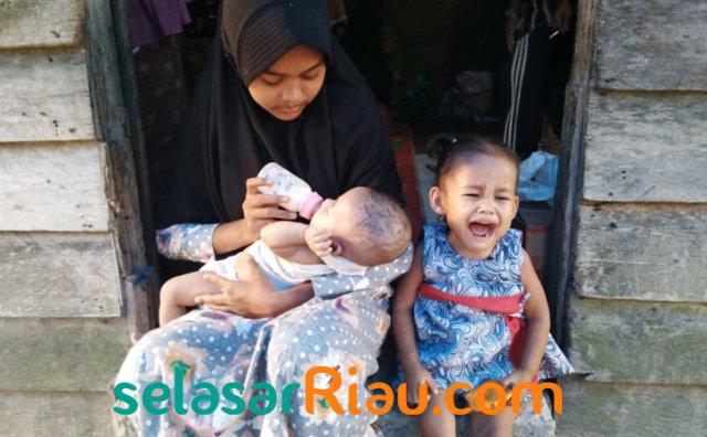 Ibu Meninggal, Ayah Nikah Lagi! Begini Nasib Miris Gadis Asal Riau Bersama 2 Adiknya