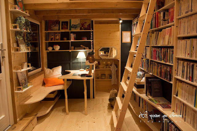 Travelling Tiny House Bookstore