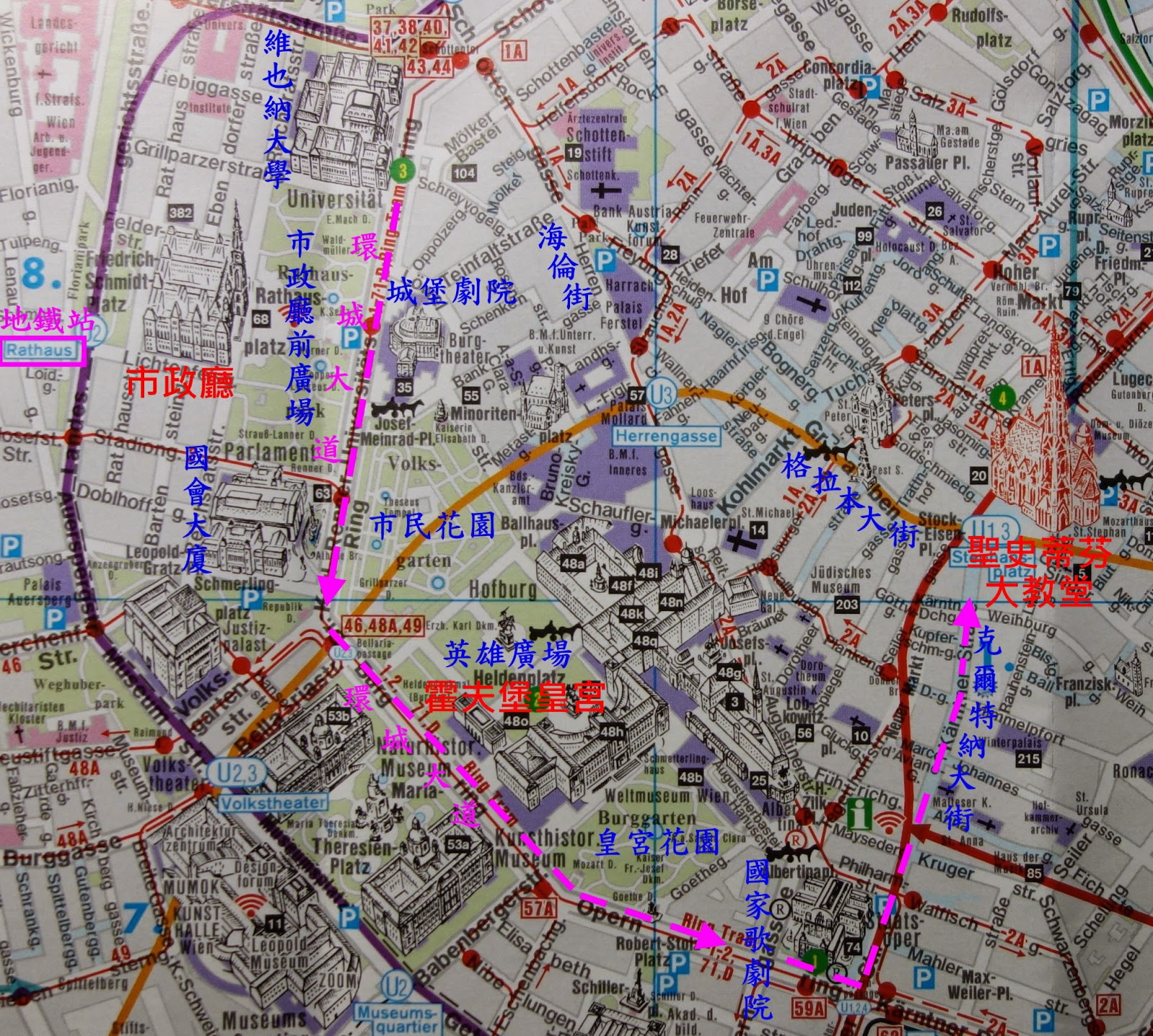 Isis意思異思 : 維也納景點.市集一日遊,交通&行程規劃