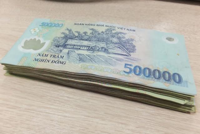 ベトナム50万ドン Vietnam dong 500,000VND