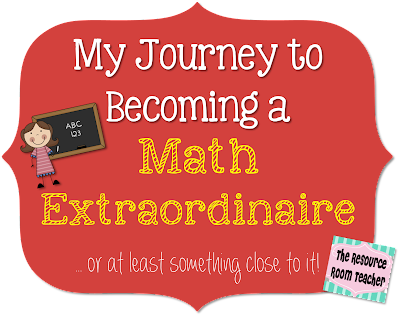 My Journey to Becoming a Math Extraordinaire {Part 1}