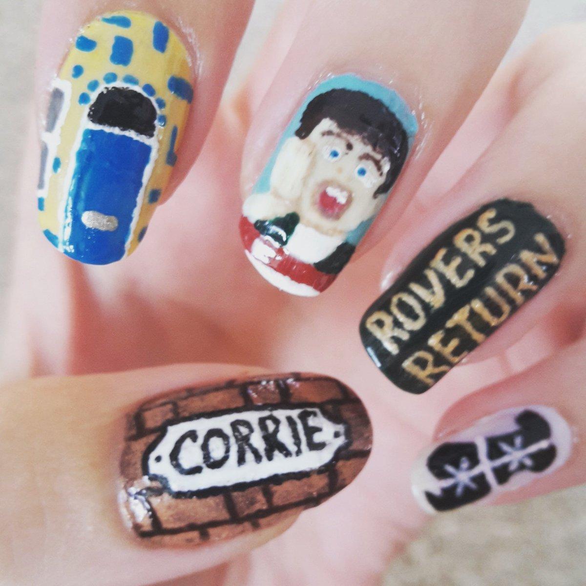 Coronation Street Blog: Fancy some Coronation Street nail art?