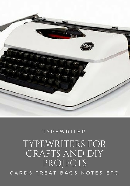 Using a Typewriter for Crafts and DIY Projects