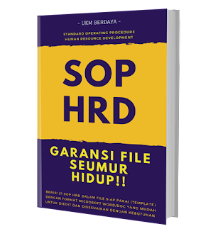 Paket SOP SDM Lengkap (template - Ms. Word)