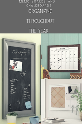 Memo Boards and Chalkboards that you'll love for Organization