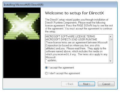 تحميل برنامج دايركت إكس مجانا DirectX free