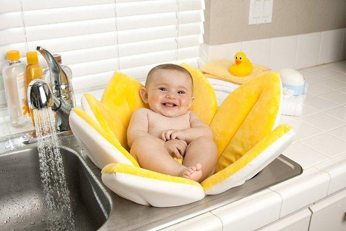 Bañeras de bebés para el lavabo o el fregadero