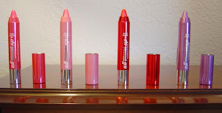 Hard Candy Cosmetics Four All Glossed Up Hydrating Lip Stains