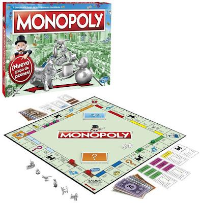 Juego de mesa, monopoly,