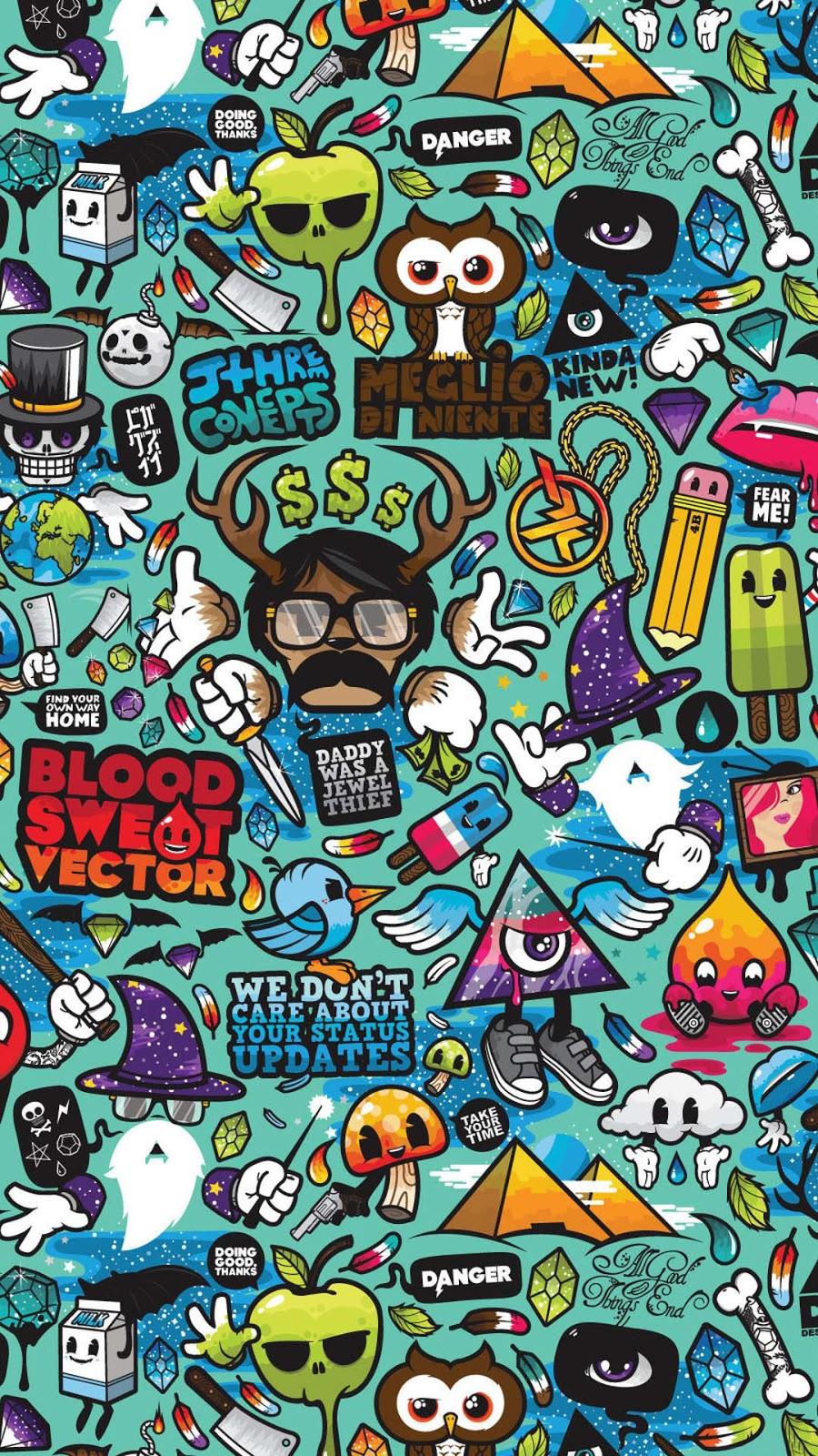 Gambar Wallpaper Kartun Untuk Android Gudang Wallpaper