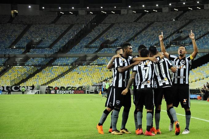 Botafogo vence Flamengo 1 x 0 final carioca 2018