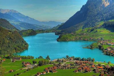 tempat wisata di swiss, pegunungan, outdoor, ski, hiking, paralayang