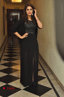 Actress Surabhi Stills in Black Long Dress at turodu Audio Launch  0106.JPG