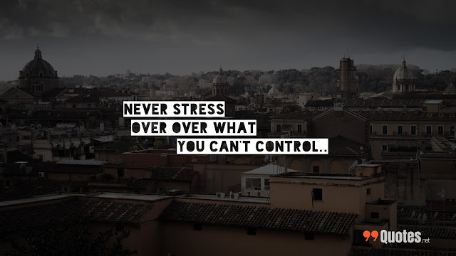 quote about control in life