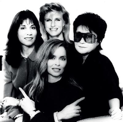 Fondatoare RAA - Olivia Harrison, Barbara Bach Starkey, Linda McCartney și Yoko Ono