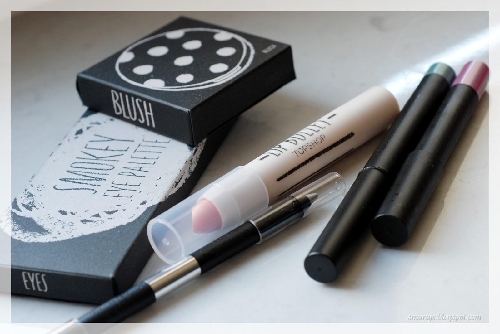 Kosmetyki do makijażu Topshop –czy warto zawracać sobie nimi głowę?