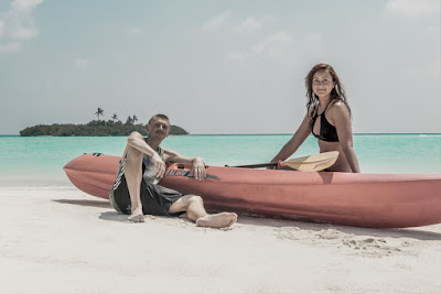 Madivaru Finolhu Malediven Weltreise Arkadij und Katja