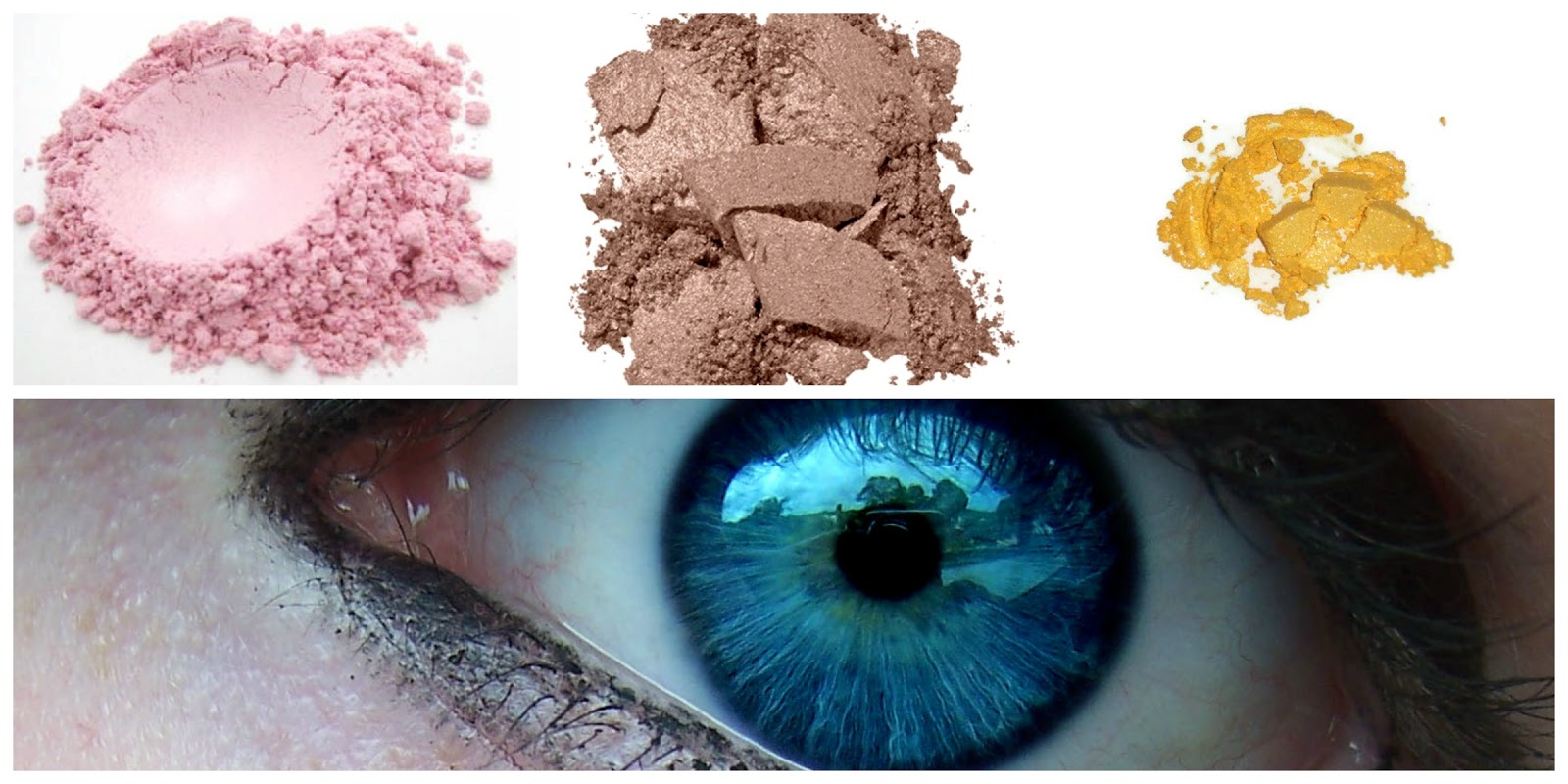 how to match your eyeshadow to your eye colour