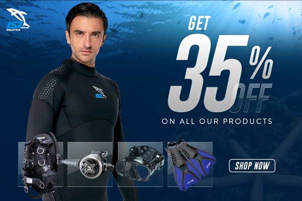 Dive equipment sale Malaysia