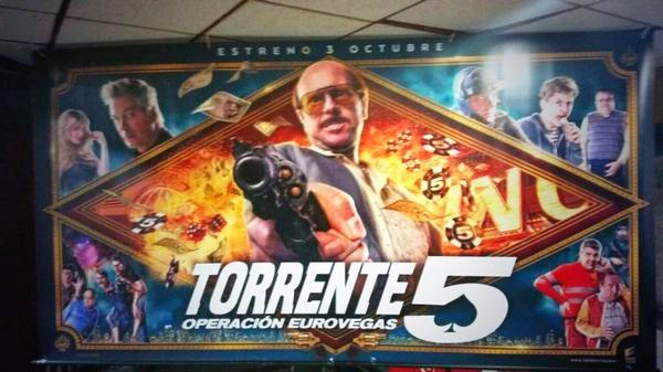 Torrente 5 Operación Eurovegas Ver gratis online en vivo streaming sin descarga ni torrent