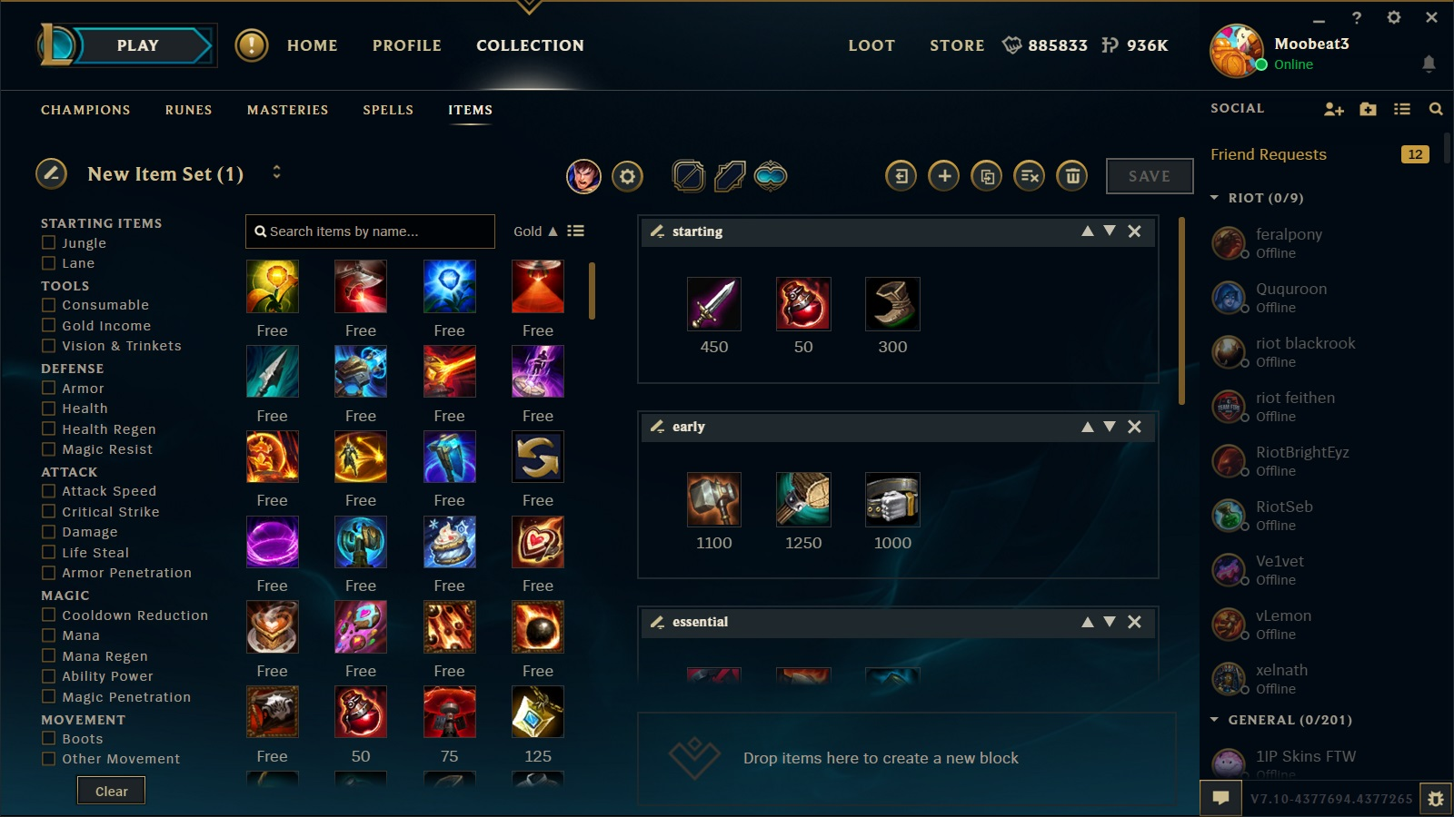 How To Access Item Builds New Lol Client