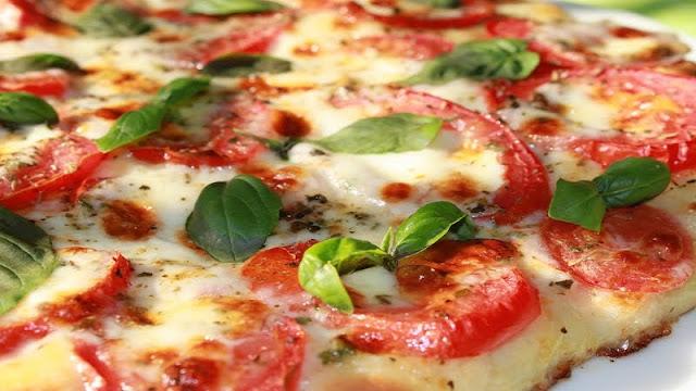 Recheio para Pizza Margherita (Imagem: Reprodução/Thecafesucrefarine)
