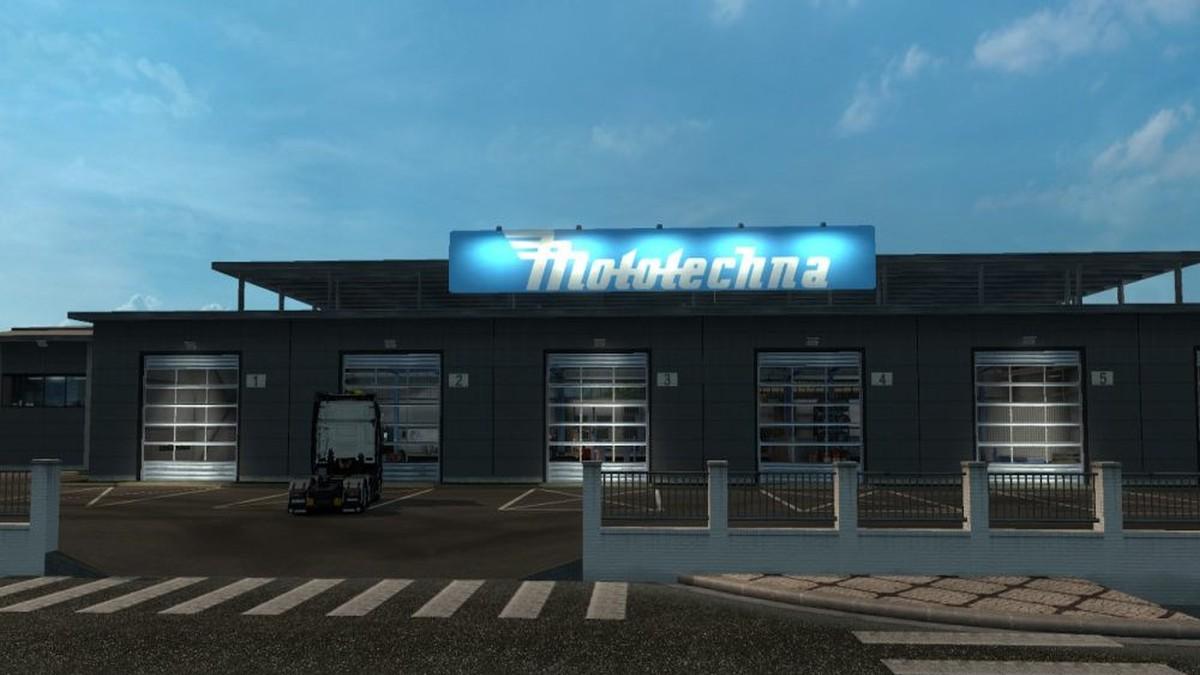Mototechna Garage Mod