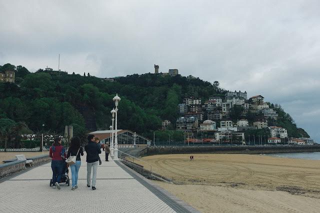 ラ・オンダレータ海岸(Playa de Ondarreta)