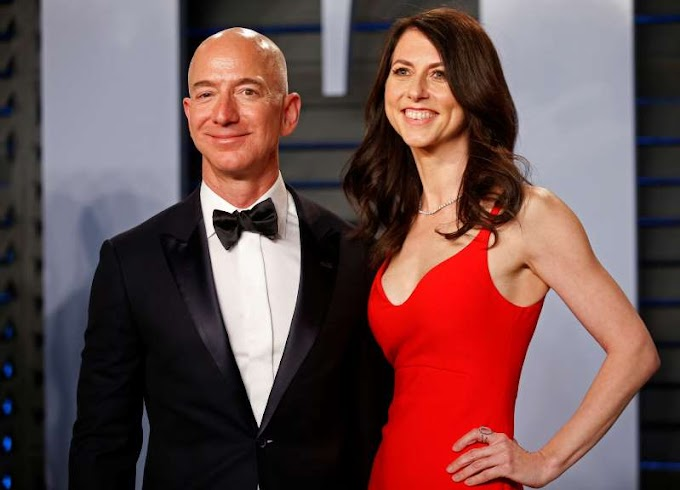 World's richest man Jeff Bezos and his wife are divorcing after 25 years & there's $160b at stake