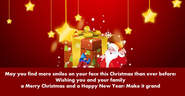 Merry Christmas and a Happy New Year quotes