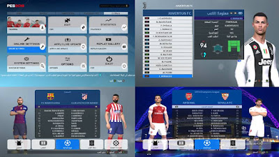 PES 2017 UCL Graphic Pack 2018/2019