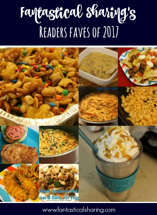 Fantastical Sharing's Readers Faves of 2017 #recipe #recipes #Countdownto2018
